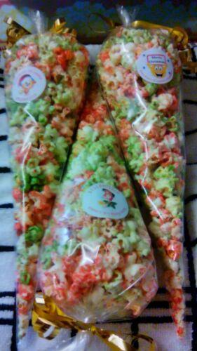 10+x+Multi+Coloured+Christmas+Cake+Flavoured+Popcorn+Cones...%C2%A315.99+inc+P%26P%21%21