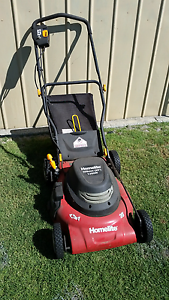 2 x Electric Lawn Mowers with Catchers $35Homelite & $25 Ozito  B Huntingdale Gosnells Area Preview