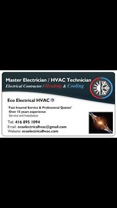 Electrician , Gas Furnace BBQ, AC repair : Ajax Pickering Whitby