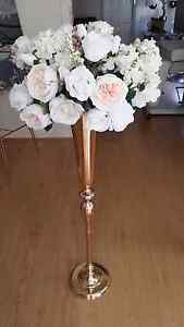100cm gold vases Bossley Park Fairfield Area Preview