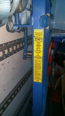 1 Pair SKOOTS SK2000 2 Tonne Heavy Duty Machinery Moving Trolley / Sack Barrows