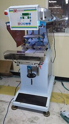 2 Color Closed Cup Automatic Pad Printing Machine