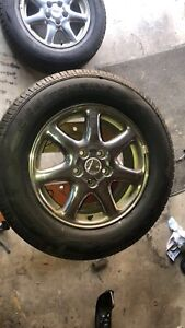 Cadillac STS tires and rims