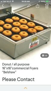Donut fryer/table top / electric 220 Belshaw
