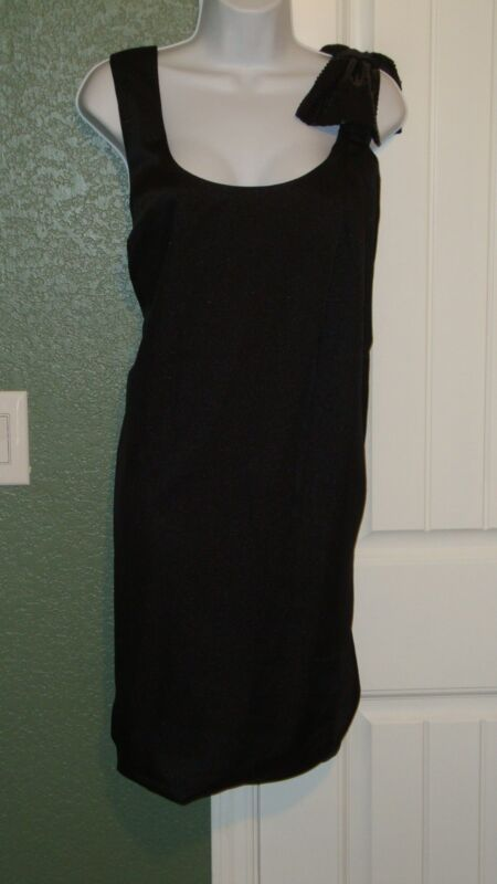 LANE BRYANT Mini Lined Black Dress NWT Size 20