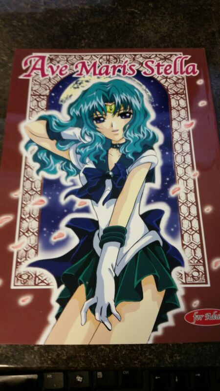 "Sailor Moon Hentai Doujinshi ""Ave Maria Stella"""