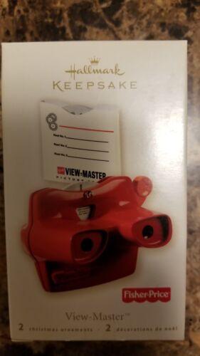 Hallmark Keepsake Ornaments Set Of 5 Including View Master