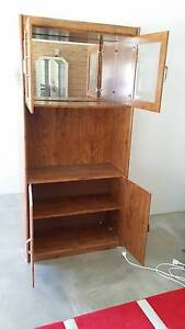 Wall Unit in Amber Woodgrain Finish Forster Great Lakes Area Preview