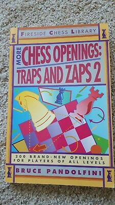 More Chess Openings : Traps and Zaps 2 by Bruce Pandolfini (1993,
