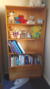 Timber bookshelf Airds Campbelltown Area Preview