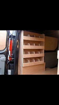 Vauxhall Vivaro  Plywood Shelving  Van Racking Ply Lining Van Storage