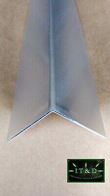 Set Of 6 - 2x 2x 48 Wall Edge Corner Guard Angle .063 Aluminum Mill Finish