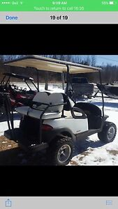 2009 gas customcart golf cart lift and wheel package 5500$ obo