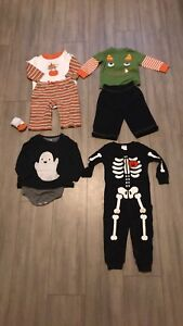 6-12 month Halloween Clothing/Pjs