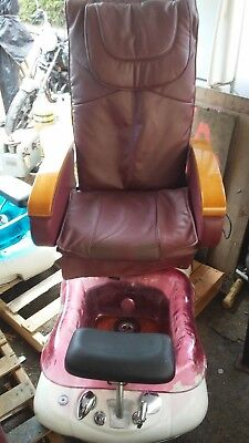 Used LUXURY SPA / Massage / Beauty Shop Foot Bath Chair by: TRUE TOUCH for sale  Amity