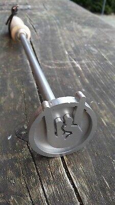 Grillstempel  Brandstempel   Rockhand  Metalhand  Grillbesteck  grillen