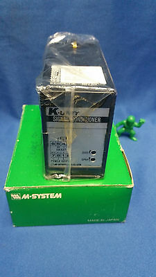 M-system K-unit Signal Conditioner Km-d-r New