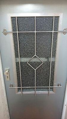 Sicherheitsgitter aus Edelstahl Keller Fenstergitter Einbruchschutz