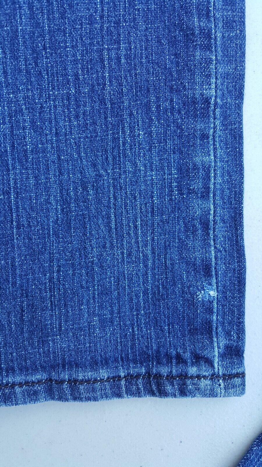 Women s / Junior / Ladies VOLCOM Jeans Low Waist Straight Leg Tag Sz 30 30x29  - $10.95