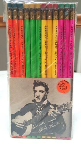 Elvis Presley Pencil Set Original 1956 E.P.E. Fan Club w/ Card Cellophane Sealed
