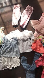 Girl's clothing from 3 months to 18 months