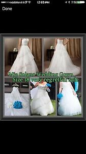 Mia Solana Diamond White Wedding Dress size 18 (fit 14-22) Worongary Gold Coast City Preview