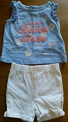 Wonder Kids girls size 18 mos outfit,