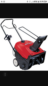 Honda Snowblower SOLD