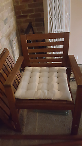 FREE Garden Chairs and Table Waitara Hornsby Area Preview