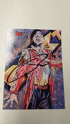 Autogramm von WWE-Artist Rob Schamberger handsigniert von Shinsuke Nakamura