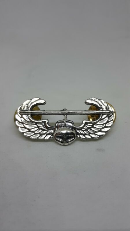 U.S. ARMY AIR ASSAULT BADGE STERLING SILVER