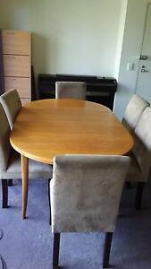 Extension dinning table and 6 chairs Redfern Inner Sydney Preview