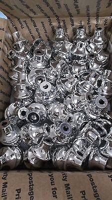 1 Tall Trophy Small Metal Bells 245pcs Silver Finish Trophy Parts