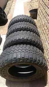 4x 265/70r17 maxxis bighorn m+s terrains tyres 4x4 Heathridge Joondalup Area Preview