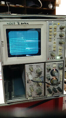 Working Tektronix 7ct1n Curve Tracer For 7000 Series Scope
