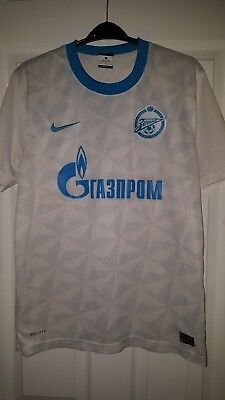 Mens Football Shirt - Zenit St Petersburg - Zenith - Nike - Away 2011-2012 - M image
