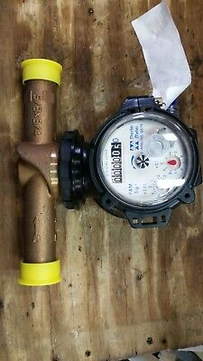 Master Meter Fam Series Flexible Axis Meter Nsf-61 With 58 Brass Flow Tube