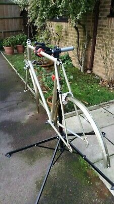 Vintage Raleigh Record Ace 25 inch frameset and extras. 1982