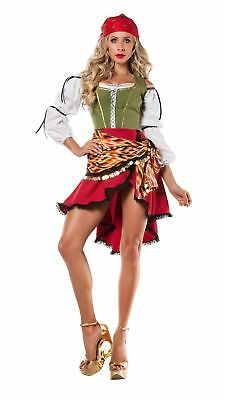Party King Women's Gypsy Costume (Woman Gypsy Costume)