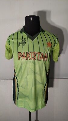 Pakistan Cricket World Cup 2015 Jamshed Hosiery Adult Jersey-Size (Free Size) M image