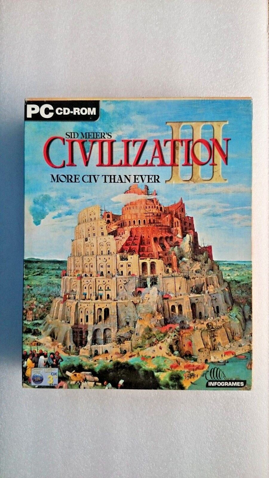 Sid Meier's Civilization 3 for PC  (Windows) - Big Box Edition