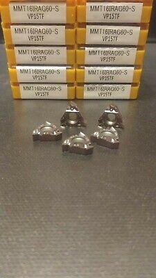 New 10 pcs MITSUBISHI MMT 16IR AG60 Grade VP15TF Threading Carbide Inserts