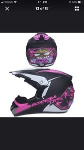 Ladies XL helmet