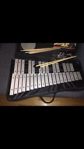 Jupiter Xylophone with Practice Pad, mallets & book