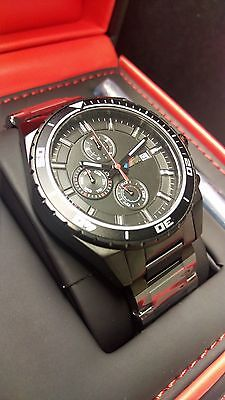 BMW Watch M Chronograph B80.26.2.406.694 Black Wristwatch