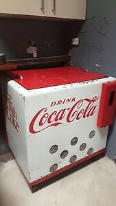 Retro Drink Coke fridge, great talking piece or resto and use. Peterborough Peterborough Area Preview