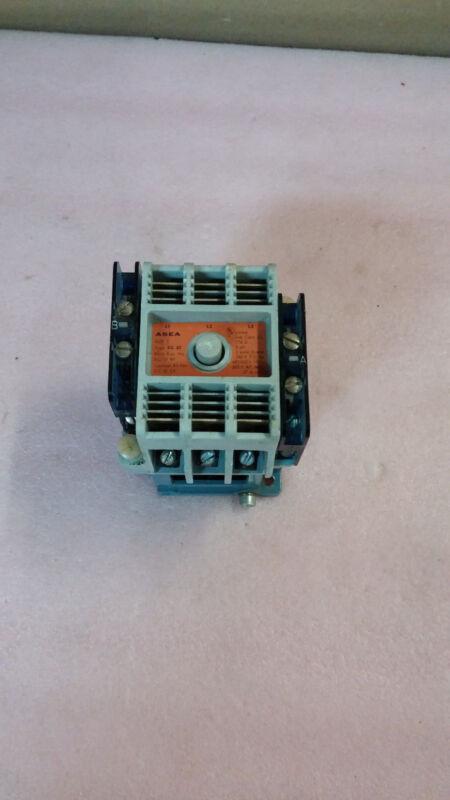 ASEA Type EG 30 3 Phase 3 Pole 27A 600VAC Contactor