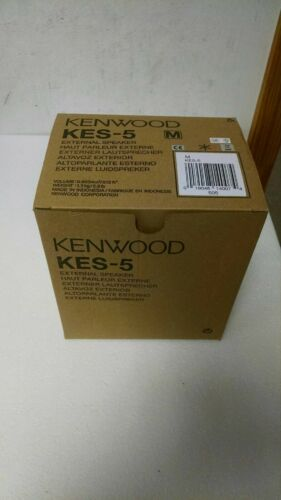 Kenwood KES-5 40 Watt External Mobile Speaker, 4 Ohms NEW