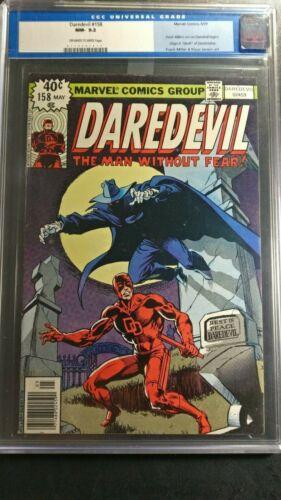 1979 Marvel Daredevil #158 CGC 9.2 1st Miller Daredevil