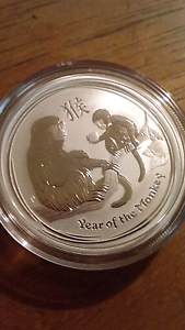 Year of The Monkey Pure Silver Coin Rockingham Rockingham Area Preview